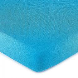 4Home jersey prestieradlo modrá, 140 x 200 cm
