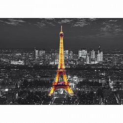 AG Art Fototapeta XXL Eiffelova veža v noci 360 x 270 cm, 4 diely