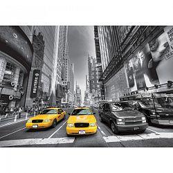 AG Art Fototapeta XXL Newyorské taxíky 360 x 270 cm, 4 diely