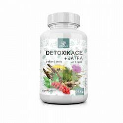 Allnature Detoxikácia bylinný extrakt 60 pastiliek