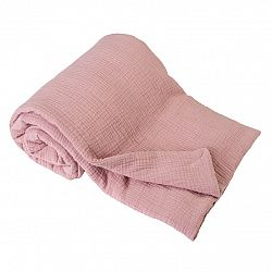 Babymatex Detská deka ružová, 75 x 100 cm