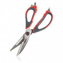 BANQUET Nůžky kuchyňské univerzální rozložitelné CULINARIA 22,5cm, červené