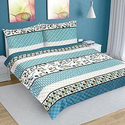 Bellatex Bavlnené obliečky Geometria, 200 x 200 cm, 2 ks 70 x 90 cm