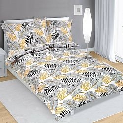 Bellatex Bavlnené obliečky Pierka, 140 x 220 cm, 70 x 90 cm