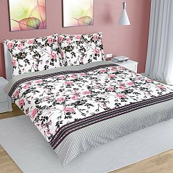 Bellatex Bavlnené obliečky Ruža šípková, 200 x 200 cm, 2 ks 70 x 90 cm