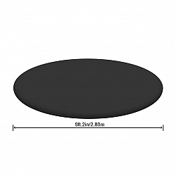 Bestway Krycia plachta na kruhový bazén 244 cm