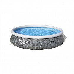 Bestway Nadzemný bazén s filtráciou Fast Set Ratan, pr. 396 cm, v. 84 cm