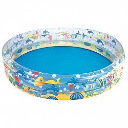 Bestway Nafukovací bazénik s motívom rybičiek, 152 x 30 cm