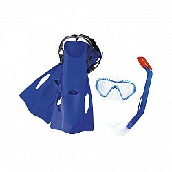 Bestway Šnorchlovací set Firefish modrá - plutvy, okuliare, šnorchel