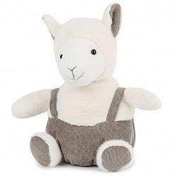 BO-MA Trading Plyšová ovečka s trakmi, 22 cm