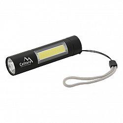 Cattara Vreckové nabíjacie svietidlo, LED 120 lm ZOOM