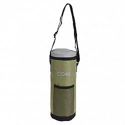 Chladiaca taška na fľašu Cool It zelená, 1,5 l