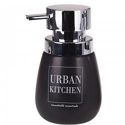 Dávkovač na tekuté mydlo Urban kitchen, čierna