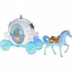 Detský hrací set Princeznin kočiar