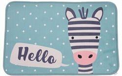 Detský koberec Zebra, 50 x 78 cm