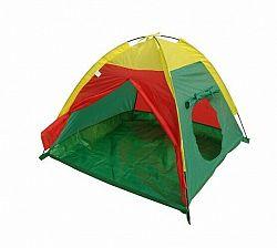 Detský stan Igloo I - žlto-zeleno-červený