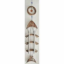 Drevená zvonkohra Ryba, 72,5 cm