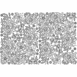 EUROGRAPHICS Color me puzzle Skrytí motýli 300 dílků + sada na zavěšení
