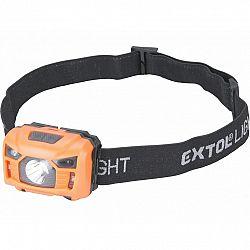 EXTOL - LIGHT Nabíjacia čelovka, 100 lm