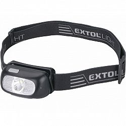 EXTOL - LIGHT Nabíjacia čelovka CREE XPG, 130 lm