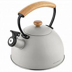 Florina Nerezový čajník Natura Line 2,3 l, sivá
