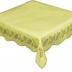 Forbyt Obrus Lístky žltá, 85 x 85 cm