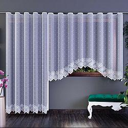 Forbyt Záclona Xénia biela, 350 x 160 cm