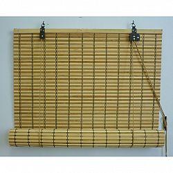 Gardinia Roleta bambusová JAVA prír./čokoláda, 140 x 160 cm