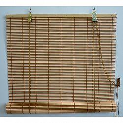 Gardinia Roleta bambusová prír./čerešňa, 100 x 160 cm