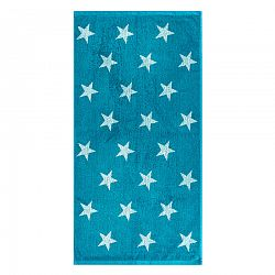 JAHU Uterák Stars tyrkysová, 50 x 100 cm