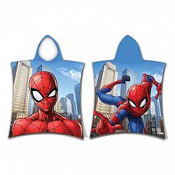 Jerry Fabrics Detské pončo Spiderman jump, 50 x 115 cm