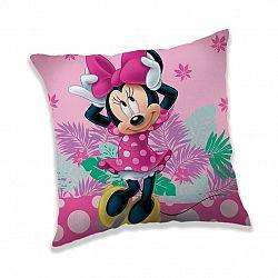 Jerry Fabrics Vankúšik Minnie tropic, 40 x 40 cm