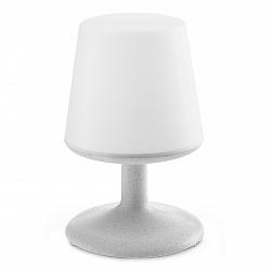 Koziol Stolná lampa Light to go, sivá