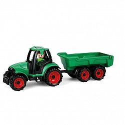 Lena Traktor s vlečkou Truckies, 32 cm