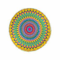 Modom Plážová osuška okrúhla Fancy Flower, 150 cm