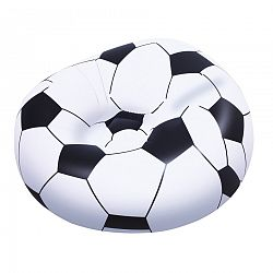 Nafukovací křeslo Fotbalový míč, 1,14m x 1,12m x 66cm