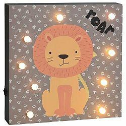 Nástenná LED dekorácia Hatu Lev, 26 x 4 x 26 cm