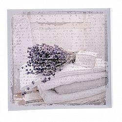 Obraz na plátne Lavender blanket, 28 x 28 cm
