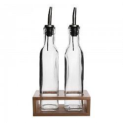 Orion Fľaša na olej a ocot 2 ks so stojanom