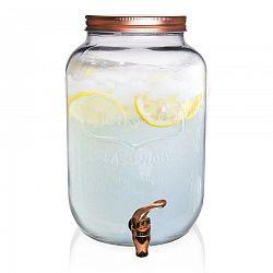 Orion Fľaša sklo+kohútik 8,8 l