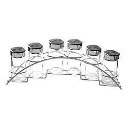 Orion Korenička sklo/UH 6 ks+stojan kov
