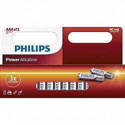 Philips baterie AAA Power Alkaline - 12ks LR03P12W/10