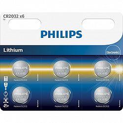 Philips baterie CR2032P6/01B - 6ks