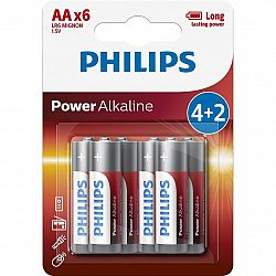 Philips PowerLife AAA 6ks LR03P6BP/10