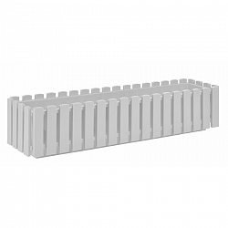 PLASTKON Truhlík FENCY 75 x 18,5 cm biela