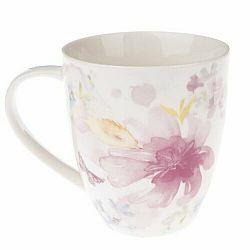 Porcelánový hrnček Flower, 490 ml