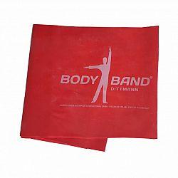 Posilňovacia guma Body-Band 2,5 m, červená SJH 523B