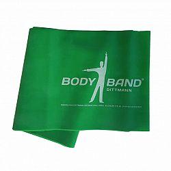 Posilňovacia guma Body-Band 2,5 m, zelená SJH 523C
