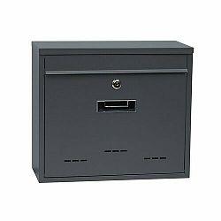 Poštová oceľová schránka BK.31.D.AM, sivá