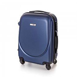 Pretty UP Kufor na kolieskach ABS16 modrá, 37 x 49 x 23 cm